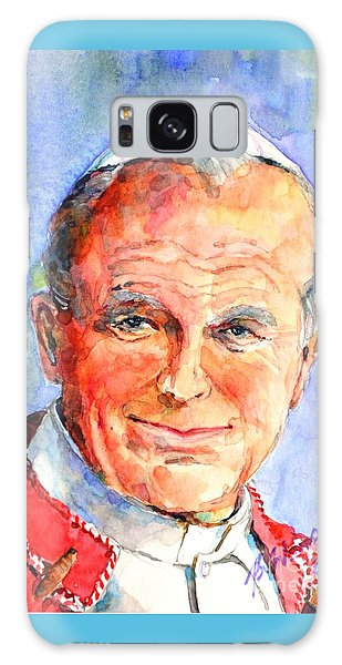 St. Pope Paul John II Galaxy Case