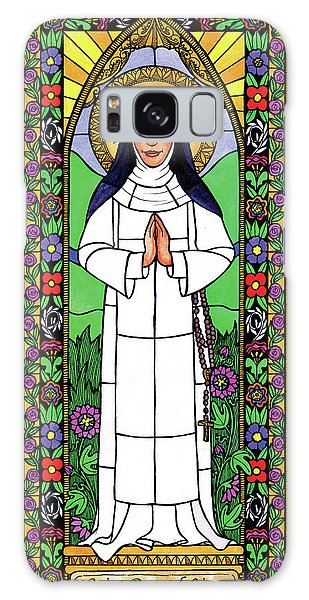 St. Rose Of Lima Galaxy Case