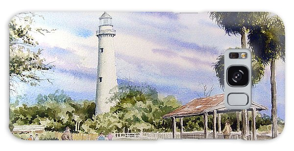 St. Simons Island Lighthouse Galaxy Case