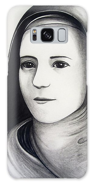 St. Therese Of Lisieux Galaxy Case