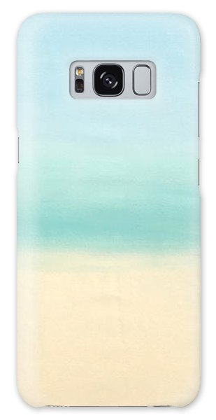 St Thomas #1 Seascape Landscape Original Fine Art Acrylic On Canvas Galaxy Case