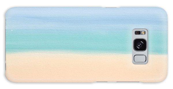 St Thomas #4 Seascape Landscape Original Fine Art Acrylic On Canvas Galaxy Case