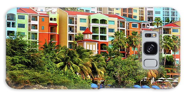St. Thomas Panorama Galaxy Case
