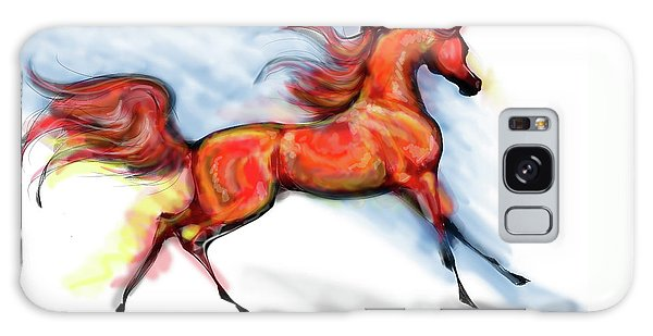 Staceys Arabian Horse Galaxy Case by Stacey Mayer