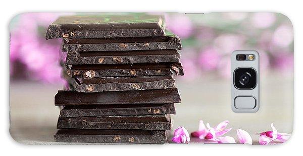 Tasty Galaxy Case - Stack Of Chocolate by Nailia Schwarz
