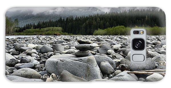 Stacked Rocks Galaxy Case
