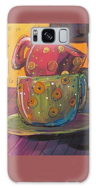 Stacked Galaxy Case by Terri Einer