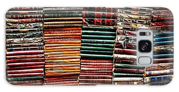 Stacks Of Books Galaxy Case