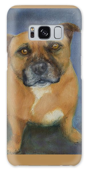 Staffordshire Bull Terrier Galaxy Case