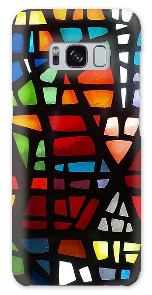Stained Glass 2 Galaxy Case by Michael Canning