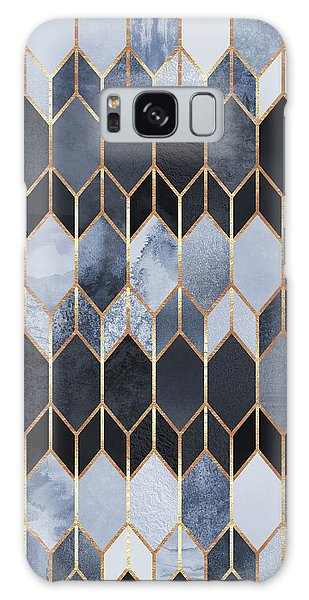 Geometric Galaxy Case - Stained Glass 4 by Elisabeth Fredriksson