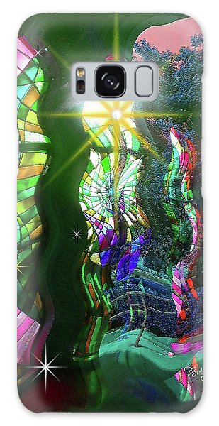 Stained Glass #4719_2 Galaxy Case by Barbara Tristan