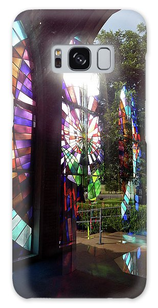 Stained Glass #4720 Galaxy Case