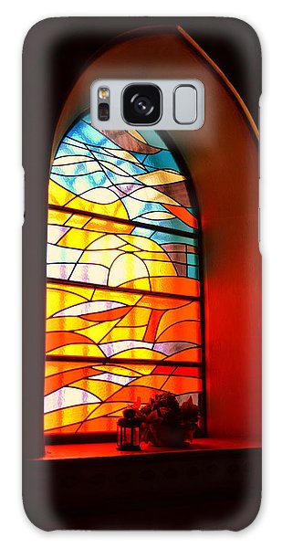 Stained Glass Window Galaxy Case