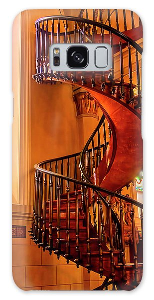 Handrail Galaxy Case - Staircase To Heaven by Garry Gay