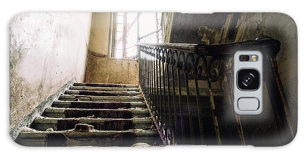 Stairs In Haunted House Galaxy Case