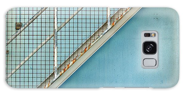 Stairs On Blue Wall Galaxy Case