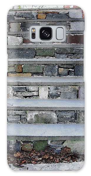 Stairs To The Plague House Galaxy Case by RC DeWinter