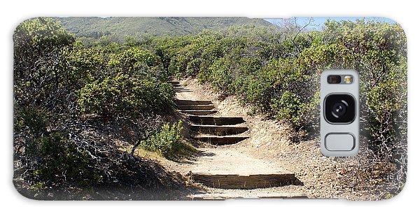 Stairway To Heaven On Mt Tamalpais Galaxy Case