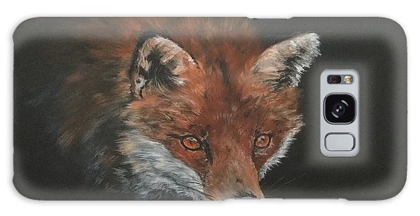Red Fox In Stalking Mode Galaxy Case