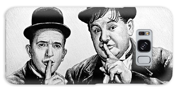 Stan And Ollie Galaxy Case