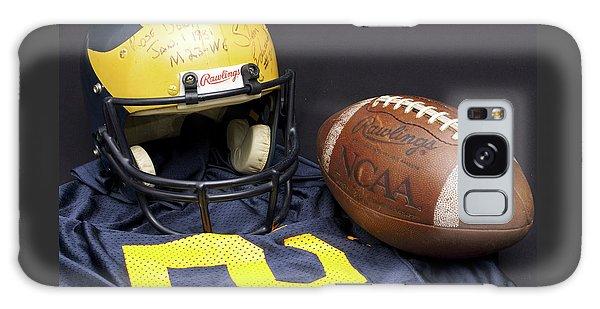 Stan Edwards's Autographed Wolverine Helmet Galaxy Case