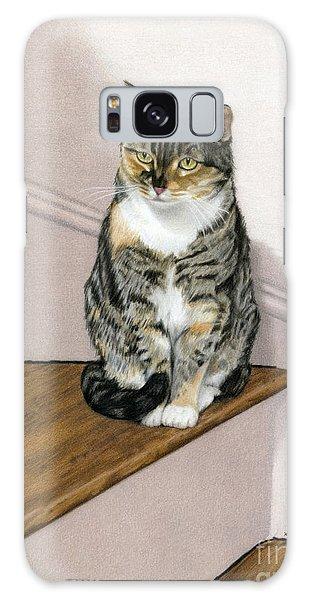 Calico Cat Galaxy Case - Stanzie Cat by Sarah Batalka