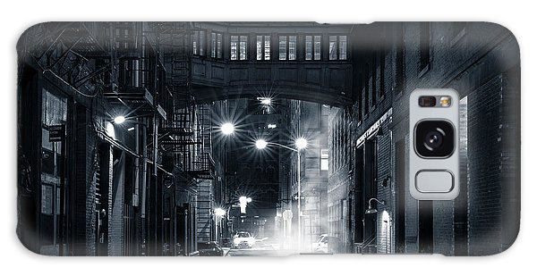 Staple Street Skybridge By Night Galaxy Case