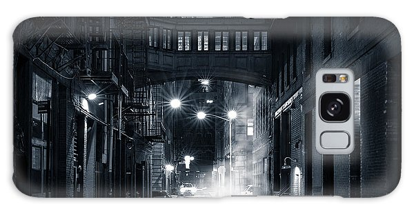 Staple Street Skybridge By Night Galaxy Case