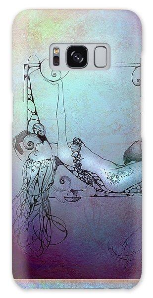 Star Mermaid Galaxy Case by Ragen Mendenhall