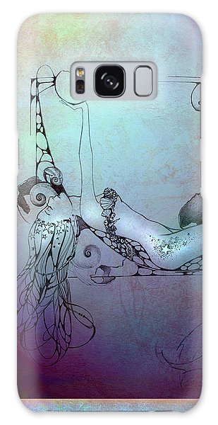Star Mermaid Galaxy Case by Ragen Mendenhall