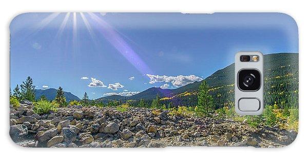 Star Over Creek Bed Rocky Mountain National Park Colorado Galaxy Case