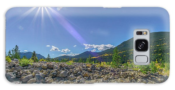 Star Over Creek Bed Rocky Mountain National Park Colorado Galaxy Case