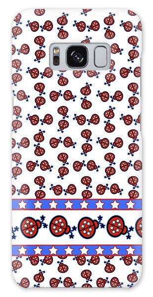 Star-spangled Lady Bugs Galaxy Case by Methune Hively