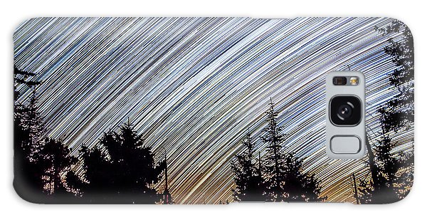 Star Trails From Mt. Graham Galaxy Case