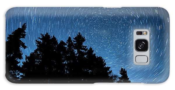 Star Trails In Acadia Galaxy Case