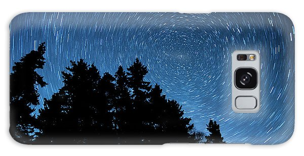 Star Trails In Acadia Galaxy Case