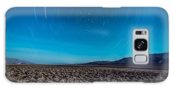 Star Trails In The Desert Galaxy Case