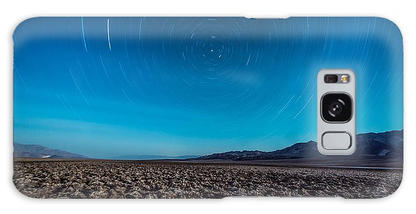 Star Trails In The Desert Galaxy Case