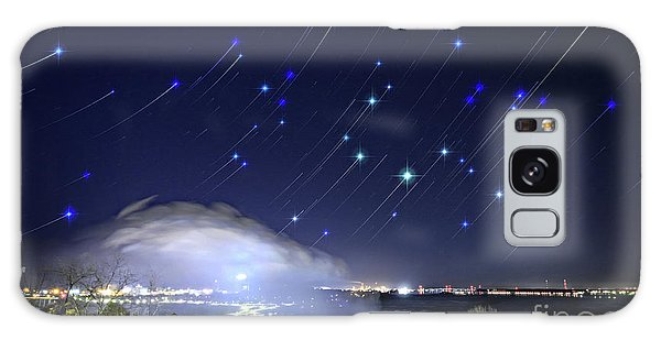 Star Trails Over Niagara River Galaxy Case by Charline Xia