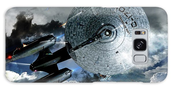 Star Trek Into Darkness, Original Mixed Media Galaxy Case by Thomas Pollart