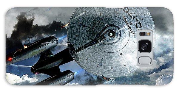 Johnny Carson Galaxy Case - Star Trek Into Darkness, Original Mixed Media by Thomas Pollart