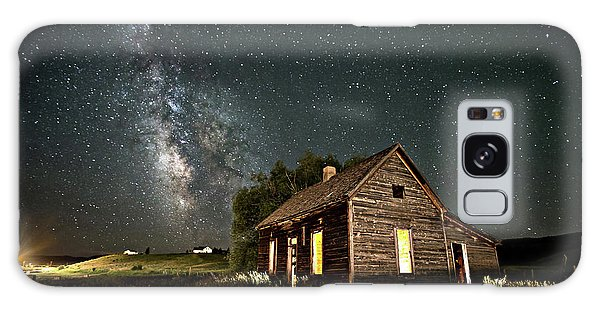 Galaxy Case featuring the photograph Star Valley Cabin by Wesley Aston
