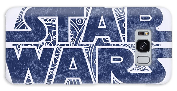 The Sky Galaxy Case - Star Wars Art - Logo - Blue by Studio Grafiikka