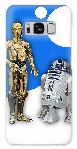 Star Wars C-3po And R2-d2 Galaxy Case