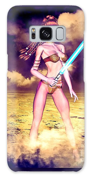 Star Wars Inspired Fantasy Pin-up Girl Galaxy Case