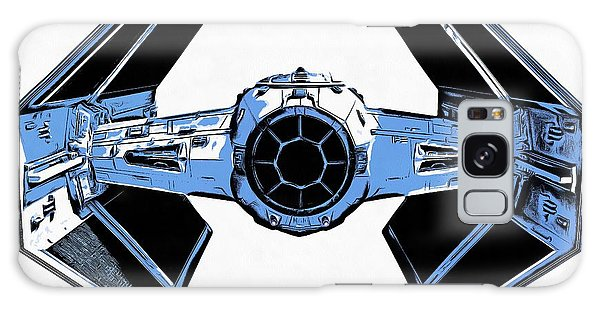 Star Wars Tie Fighter Advanced X1 Galaxy Case by Edward Fielding