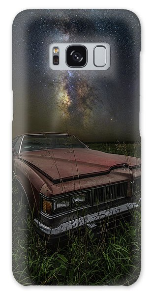 Galaxy Case featuring the photograph Stardust And Rust - Pontiac by Aaron J Groen