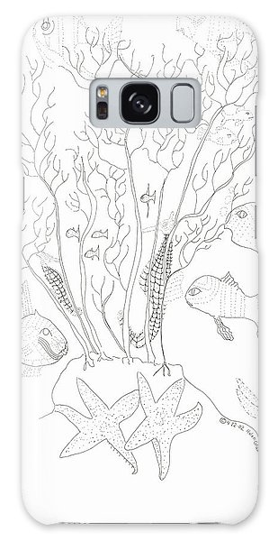 Starfish Dance And Fish Camouflage Galaxy Case