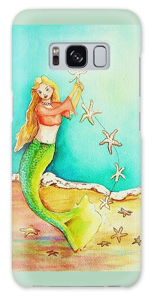 Starfish Mermaid Galaxy Case